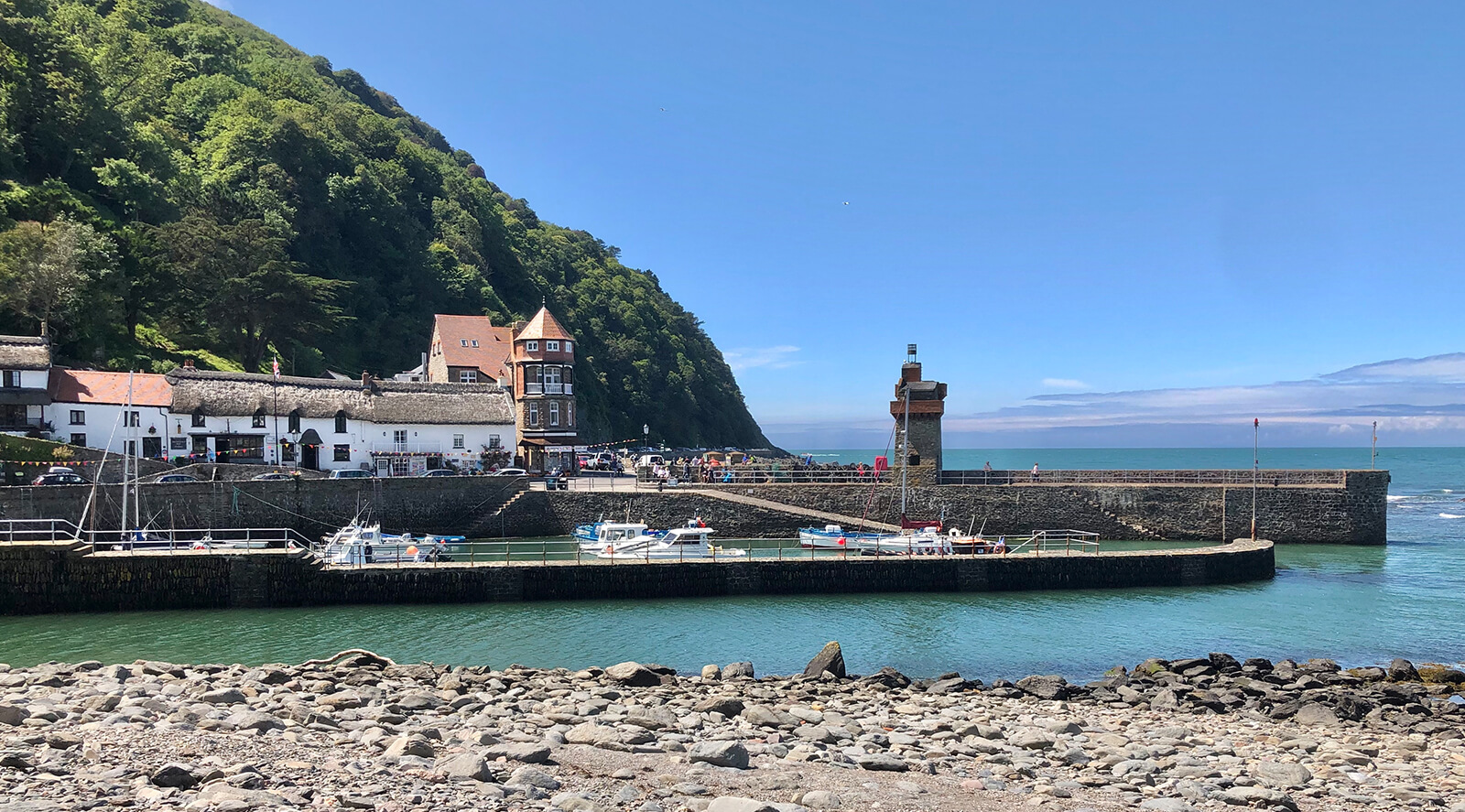 Lynton Lynmouth Harbour