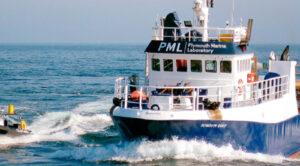 Plymouth Marine Laboratory Boat
